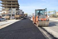 SICAK ASFALT - Erdemli'de Asfalt Çalışmaları Sürüyor