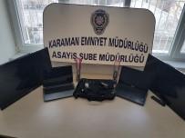 Karaman'da Hırsızlık Yaparken Suçüstü Yakalanan 2 Kişi Tutuklandı