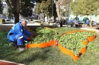 Konak'ta Parklar Renkleniyor
