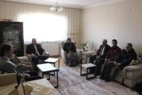 TERÖR MAĞDURLARI - Kovancılar Protokolünden Şehit Ailesini Ziyaret