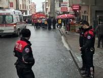 PATLAMA ANI - İstanbul'da korkunç patlama: Yaralılar var