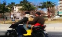 Motosiklette Koyunla Seyahat