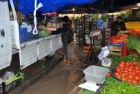 HALITPAŞA - Mudanya'da Pazar Yeri Dereye Döndü