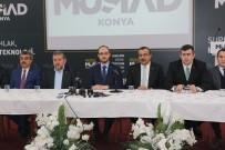 ASGARI ÜCRET - MÜSİAD Konya Şube Başkanı Ömer Faruk Okka Açıklaması