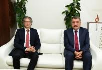 SELAHATTIN GÜRKAN - Prof. Dr. Özdemir, Başkan Gürkan'a Veda Ziyaretinde Bulundu