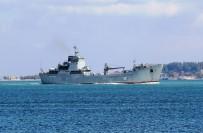SAHİL GÜVENLİK - Rus Savaş Gemisi Çanakkale Boğazından Geçti