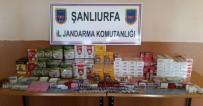Şanlıurfa'da Cinsel Uyarıcı Hap, Kaçak Çay Ve Sigara Ele Geçirildi