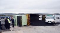 Soma'da Aynı Yerde Bir Günde Üç Kaza Açıklaması 2 Yaralı