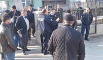 Sungurlu'da Kamyoncular TMO'si Önünde Eylem Yaptı