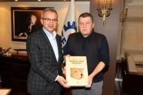 İSMAİL RÜŞTÜ CİRİT - Yargıtay Başkanı Cirit, Başkan Köşker'i Ziyaret Etti