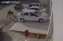 ÇATIŞMA - 1 Kişinin Öldüğü, 4 Kişinin Yaralandığı Silahlı Kavga Güvenlik Kamerasında