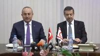 HÜSEYIN ÖZGÜRGÜN - Başbakan Özgürgün Bakan Çavuşoğlu'nu Kabul Etti