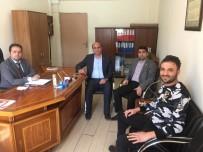 MİMAR SİNAN - Başkan Deniz'den Mimar Sinan Orta Okuluna Ziyaret