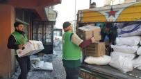 YARDIM MALZEMESİ - Bitlis'ten Halep Halkına Yardım