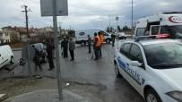 Burhaniye'de Zincirleme Kaza Açıklaması 1 Yaralı