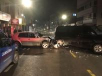 KOZCAĞıZ - 'Dur' İhtarına Uymayan Uyuşturucu Tacirleri Kaza Yaptı
