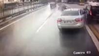 TRAFIK KAZASı - E-5'teki kaza kamerada