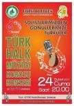 TÜRK HALK MÜZİĞİ - Edirne'de Müzik Ziyafeti