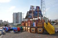 ESTETIK - Erdemli'de Çocuklar İçin İkinci Gemi Park Yapıldı