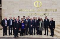 GÜNDOĞAN - Frankfurt Belediye Başkanı Ve Kafilesinden Anadolu Üniversitesine Ziyaret