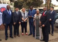 MEHMET ÖZDEMIR - Gine Dışişleri Bakanlığı Protokol Müdürlüğü'ne Tadilat Ve Donanım Desteği