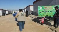 İDLIB - İstanbul'dan Yola Çıkan Yardım Tır, Suriye'deki Yetim Ve Şehit Eşlerine Ulaştı