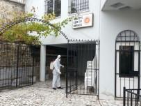 CEMEVI - Maltepe'deki İbadethaneler Dezenfekte Edildi