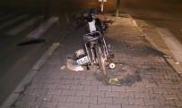 Otomobil Motosiklete Çarptı Açıklaması 1 Yaralı