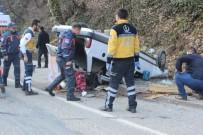 Otomobil Takla Attı Açıklaması 1 Ölü, 2 Yaralı