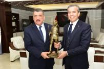 SELAHATTIN GÜRKAN - Polatlı Belediye Başkanı Yıldızkaya'dan Gürkan'a Ziyaret