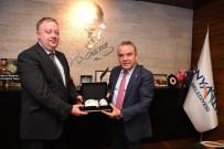 MUHITTIN BÖCEK - Rusya Başkonsolosu Rogoza'dan Başkan Böcek'e Teşekkür Ziyareti