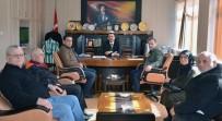 ŞEHIT - Şehit Yakınlarından Kaymakam Ve Belediye Başkanına Ziyaret