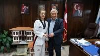 ŞAMPIYON - Zehra Arı, Osmaneli'ne İki Madalya Daha Kazandırdı