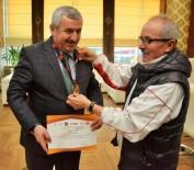ALTIN MADALYA - Başkan Baran, Şampiyonları Ağırladı