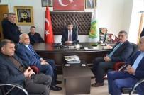 SERVİSÇİLER ODASI - Başkan Gürkan'dan Minibüsçü Ve Servisçilere Teşekkür Ziyareti