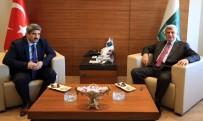 KALIFIYE - Başkan Karaosmanoğlu'dan KOTO'ya Ziyaret