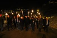 İL GENEL MECLİSİ - Bayburt 'Şehitlere Saygı Yürüyüşü'nde Buluştu