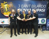 BURSA BÜYÜKŞEHİR BELEDİYESİ - Büyükşehir Bilardoda Türkiye Üçüncüsü
