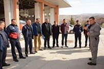 VEDAT YıLMAZ - Dinar Belediyesi İtfaiye Personeline Eğitim Verildi