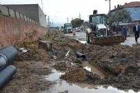 SOMA - Hürriyet Mahallesi'nin Yağmur Suyu Sorunu Çözüldü