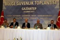 İL EMNİYET MÜDÜRLERİ - İçişleri Bakanı Soylu, 10 İlin Valisiyle Güvenlik Toplantısında Bir Araya Geldi
