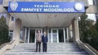 EMNİYET MÜDÜRÜ - İl Müftüsü İpek'ten Emniyet Müdürü Aydın'a Ziyaret