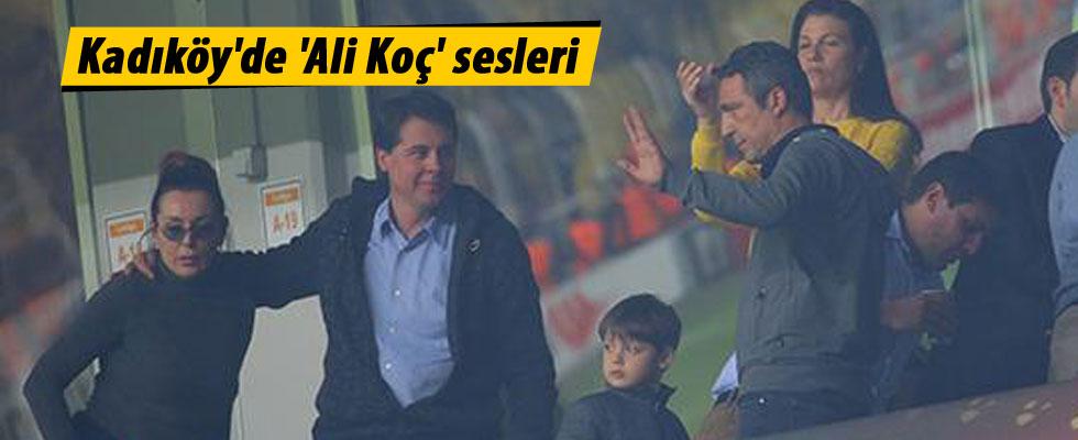 Kadıköy'de 'Ali Koç' Sesleri