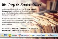 SOSYAL SORUMLULUK - Kayserigaz Kayseri'de İhtiyaç Sahibi Okula Hediye Etmek Üzere 'Kitap Toplama Kampanyası' Başlattı