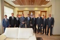 MUSTAFA KUTLU - Kurum Müdürlerinden Cumhuriyet Başsavcısı Ercan'a Ziyaret