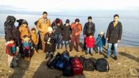 GÜZELÇAMLı - Kuşadası'nda 18 Göçmen Yakalandı