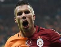 GALATASARAY - Lukas Podolski'den Fenerbahçe'ye gönderme