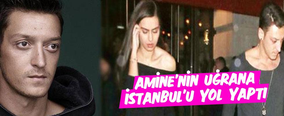 Mesut Özil'den maç arası İstanbul