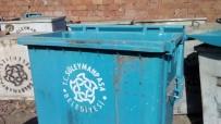 DOĞALGAZ - Plastik Çöp Konteynırları Bakımdan Geçirildi