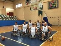 TEKERLEKLİ SANDALYE BASKETBOL - Tekerlekli Sandalye Basketbol Takımı Galip